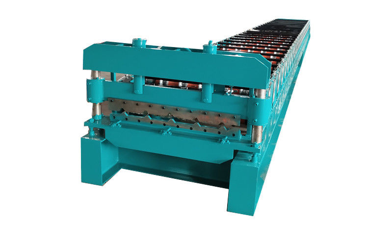 5.5kw 400H Steel Galvanized Roof Tile Roll Forming Machine